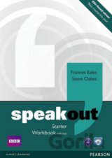 Speakout Starter Workbook with Key and Audio CD Pack (Frances Eales)