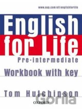 English for Life Pre-Intermediate Workbook with Key (Hutchinson, T.) [paperback]