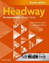 New Headway Fourth Edition Pre-Intermediate Teacher´s Book with resource disc (J