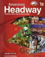 American Headway 2nd Edition 1 Student's Book Pack B [set paperback + DVD]