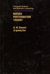 Matrix Perturbation Theory