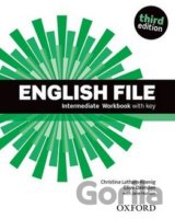 English File Third Edition Intermediate Workbook with Answer Key (Oxenden Clive,