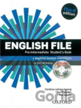 English File Third Edition Pre-Intermediate Student´s Book + iTutor DVD CZ (Chri