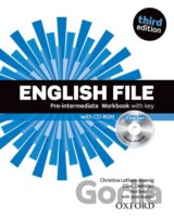 English File Third Edition Pre-intermediate Workbook with Answer Key and iChecke