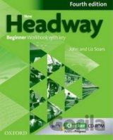 New Headway Fourth Edition Beginner Workbook with Key with iChecker CD (John and