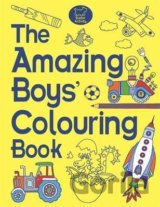 The Amazing Boys' Colouring Book (Jessie Eckel) (Paperback)