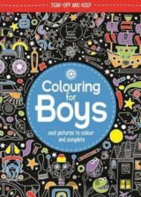 Colouring For Boys: Cool Pictures To Colour A... (Jessie Eckel)