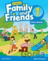 Family and Friends 2nd Edition 1 Course Book with MultiROM Pack (Naomi Simmons)