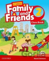 Family and Friends 2nd Edition 2 Course Book with MultiROM Pack (Naomi Simmons)