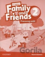Family and Friends 2 - Pracovný zošit (Naomi Simmons)