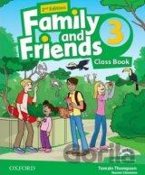 Family and Friends 2nd Edition 3 Course Book with MultiROM Pack (Naomi Simmons)