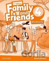 Family and Friends 2nd Edition 4 Workbook (Naomi Simmons)