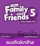 Family and Friends 2nd Edition 5 Class Audio 2 CDs (Tamzin Thompson)