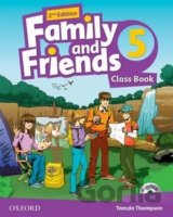 Family and Friends 2nd Edition 5 Course Book with MultiROM Pack (Tamzin Thompson
