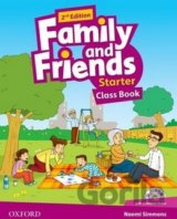 Family and Friends (2nd Edition) Starter Course Book with MultiROM Pack [EN]