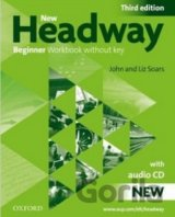 New Headway Beginner 3rd Edition Work Book + CD (Soars, J. - Soars, L.)
