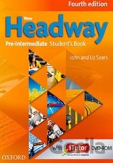 New Headway Fourth Edition Pre-intermediate Student´s Book with iTutor DVD-ROM (