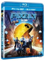 Pixely (3D + 2D - Blu-ray)