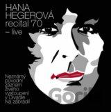 HEGEROVA HANA: RECITAL '70 - LIVE (  2-CD)