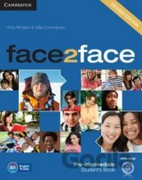 face2face Pre-intermediate Student´s Book with DVD-ROM (Chris Redston)