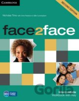 Face2Face: Intermediate - Workbook with Key (Nicholas Tims, Chris Redston, Gilli