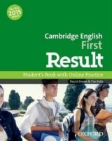 Cambridge English First Result Student´s Book with Online Practice Test (Davies
