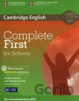 Complete First for Schools - Workbook without Answers