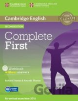 Complete First - Workbook without Answers (Barbara Thomas, Amanda Thomas)