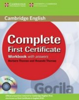 COMPLETE FIRST CERTIFICATE WORKBOOK WITH ANSWERS+CD [CZ]
