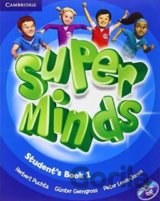 SUPER MINDS 1 STUDENTS BOOK+DVD [CZ]