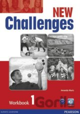 New Challenges 1 Workbook & Audio CD Pack (Amanda Maris)