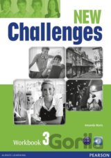 New Challenges 3 Workbook & Audio CD Pack (Amanda Maris)