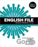 English File Third Edition Advanced Workbook with Answer Key (Christina; Oxenden
