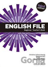 English File Third Edition Beginner Teacher´s Book with Test and Assessment CD-r