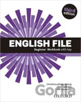 English File Third Edition Beginner Workbook with Answer Key (Christina; Oxenden