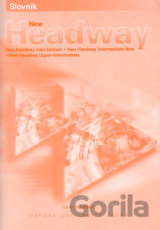 New Headway intermediate + Upper- Intermediate slovnĂ­ÄŤek [paperback]