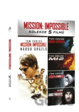 Mission: Impossible kolekce 1-5 (5 DVD)
