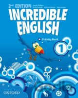 Incredible English 2nd Edition 1 Activity Book (Sarah Phillips)