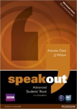 Speakout Advanced Students´ Book and DVD/Active Book Multi Rom Pack (J. J. Wilso