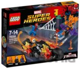 LEGO Super Heroes 76058 Spiderman: Ghost Rider vstupuje do tímu