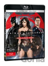Batman vs. Superman: Úsvit spravedlnosti (2 x Blu-ray - UHD+BD)
