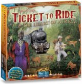 Ticket to Ride Map Collection: The Heart of Africa