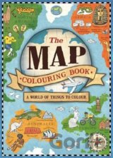 The Map Colouring Book (Colouring Books) (Natalie Hughes)