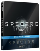 James Bond 007: Spectre (2015 - Blu-ray + DVD) - Steelbook