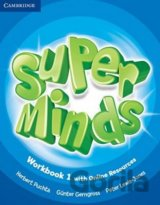 Super Minds - 1 Workbook  + Online (Herbert Puchta, Günter Gerngross, Peter Lewi