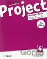 Project Fourth Edition 4 Teacher´s Book with Online Practice Pack (Tom Hutchinso