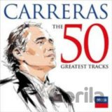 CARRERAS JOSE: 50 GREATEST TRACKS (RUZNI/VOKAL) (2-disc)