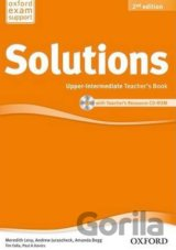 Maturita Solutions 2nd Edition Upper Intermediate Teacher´s Book with Teacher´s
