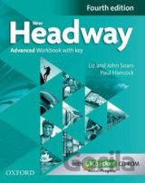 New Headway Fourth Edition Advanced Workbook with Key and iChecker CD-ROM (John