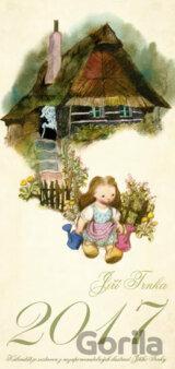Nástěnný kalendář 2017 Květuška, Perníková chaloupka - Jiří Trnka (Jiří Trnka) [